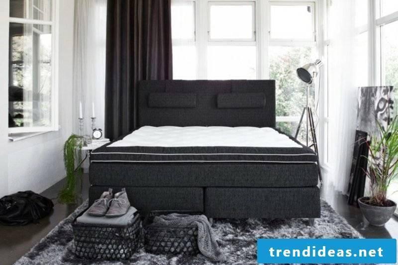 black box spring fabric upholstery original design