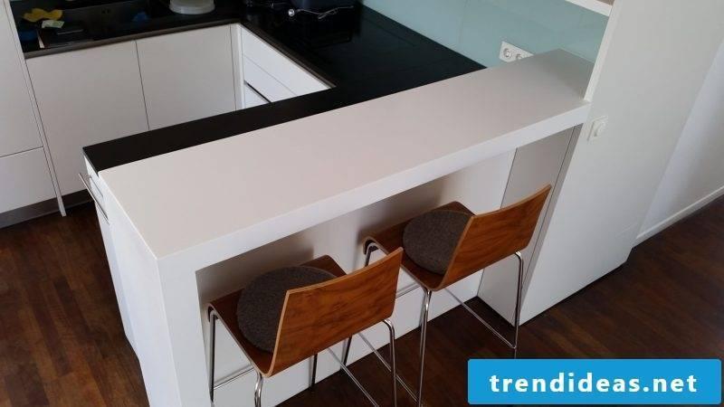 corian countertop white