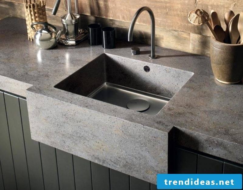 corian countertop gray