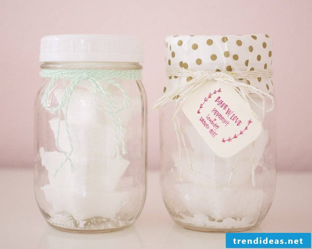 DIY ideas - give candles in jam jar