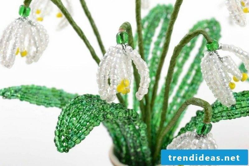 Crafting ideas Spring snowdrops
