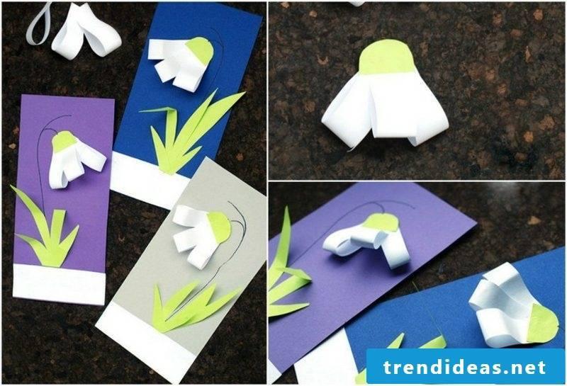 Craft Ideas Spring DIY Greeting Card