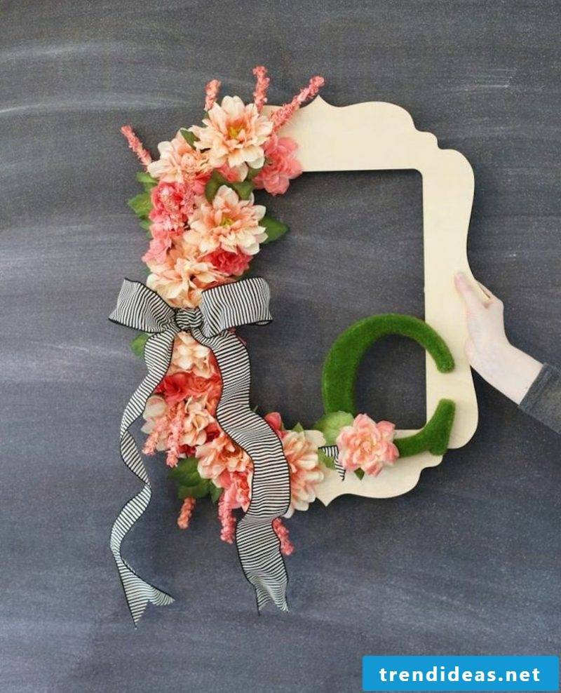 Craft Ideas Spring Picture Frame Decorate