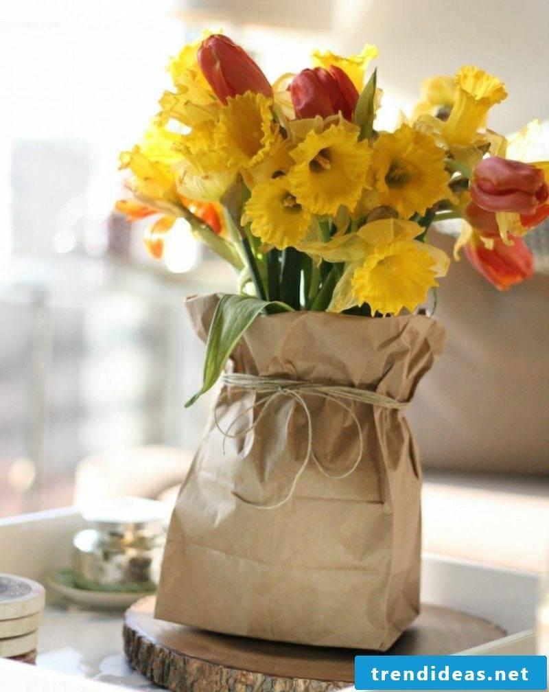 Craft ideas Spring great flower arrangements