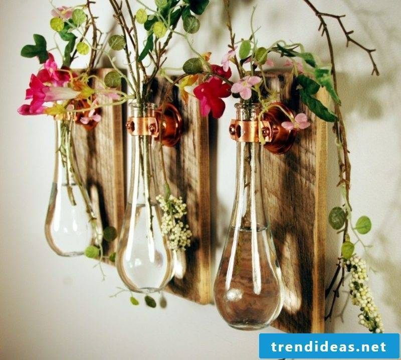 Craft Ideas Spring Floral arrangements great vases