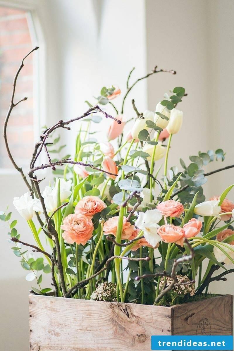 Craft Ideas Spring Flower arrangements make yourself
