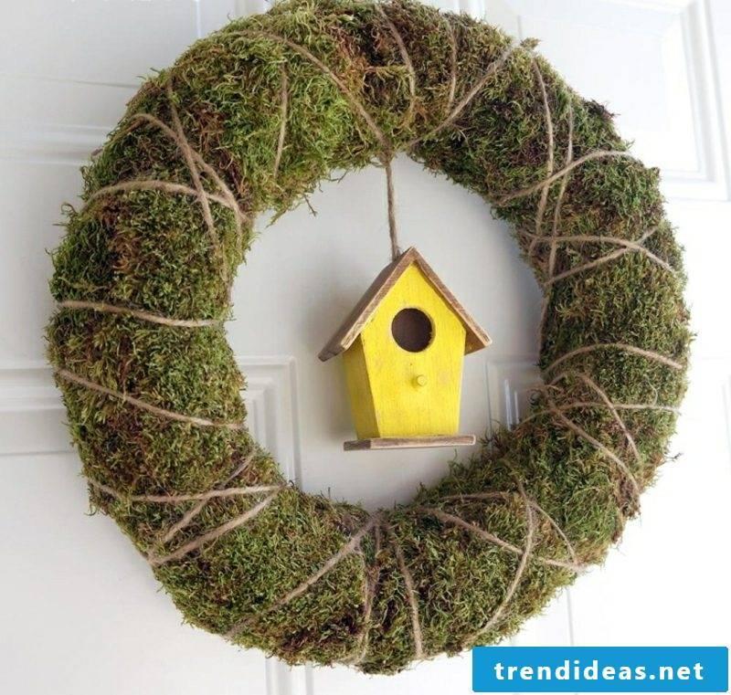 Craft ideas spring interesting wreath