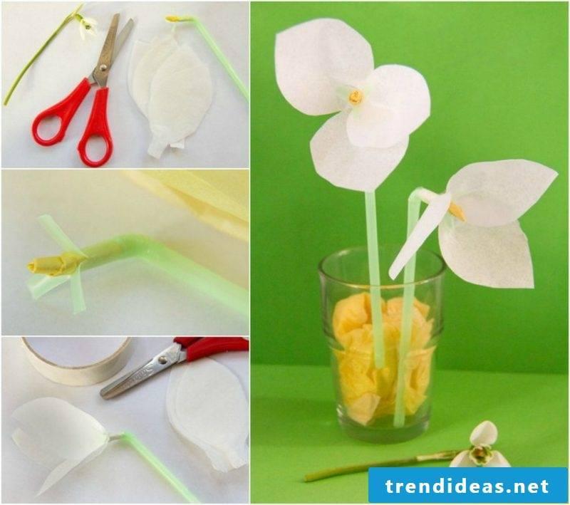Craft Ideas Spring Snowdrop DIY Instructions