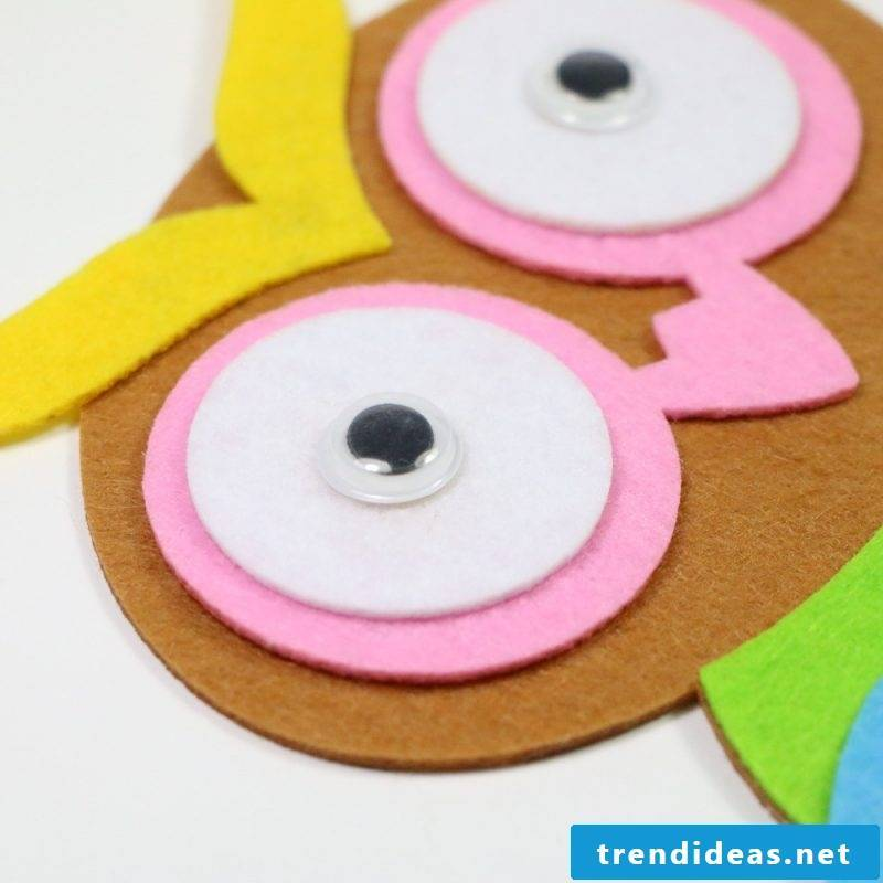 Make felt toys for children yourself