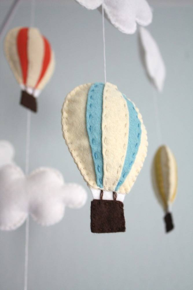 Felted Baby Mobile Holder - DIY Instructions Toys