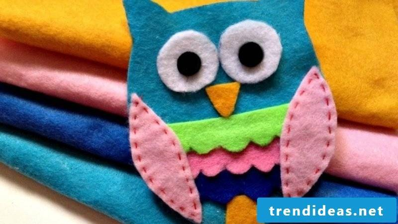 Soft children's book made of felt - DIY ideas