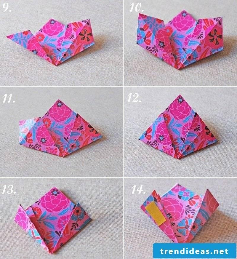 Gift craft origami flower