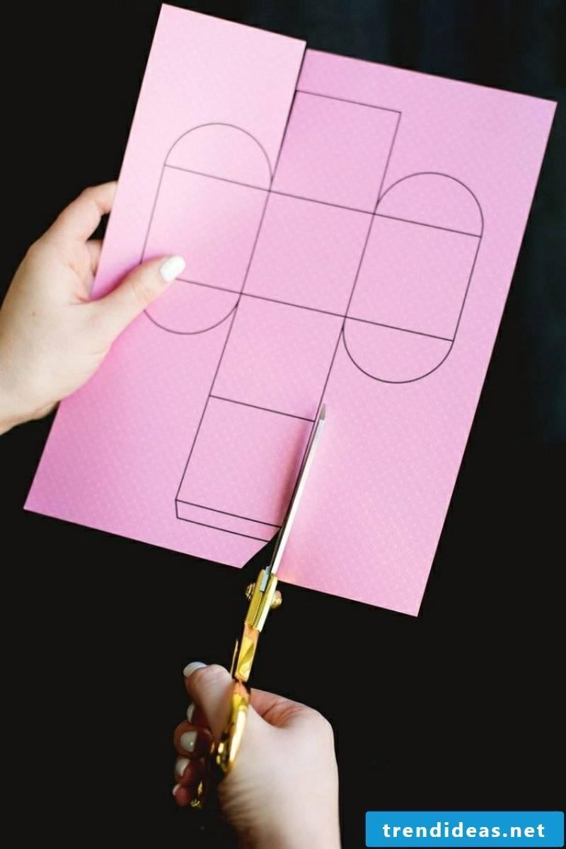 Crafting Paper box folding helpful tips