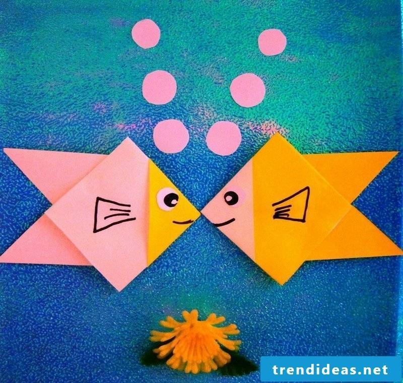 Easy Origami Fish - Origami for Kids - Easy Peasy and Fun | 760x800