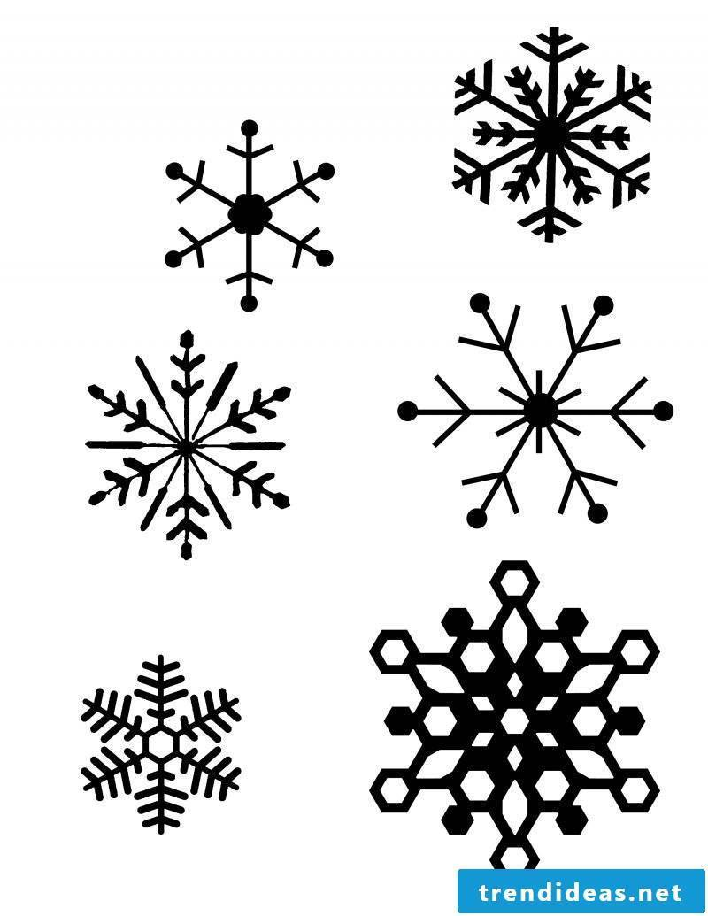 Coloring Pages for Christmas - Let the kids paint window pictures