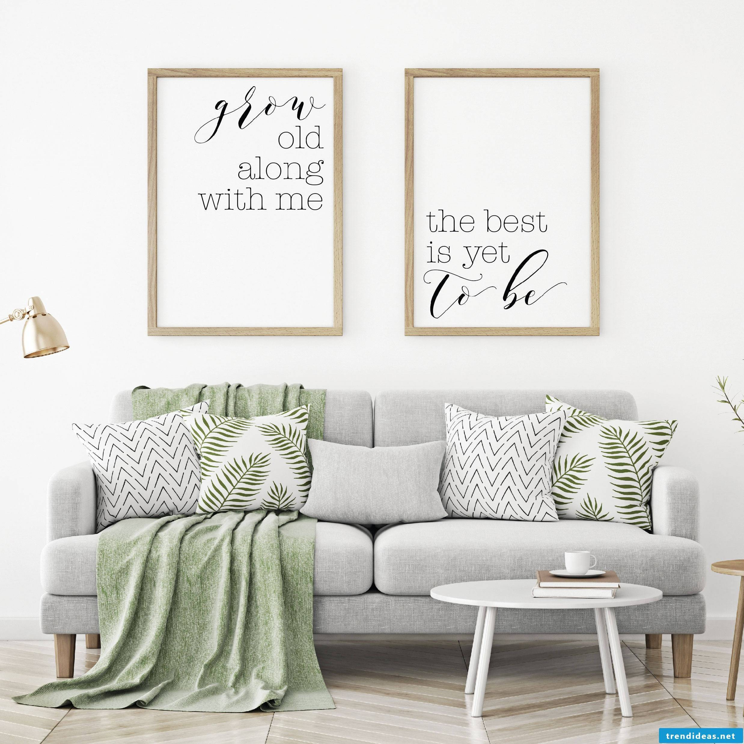 Create beautiful posters for wall with these fonts ABC