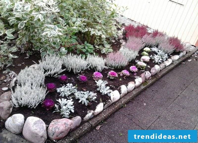 Front yard make great ideas flowerbeds