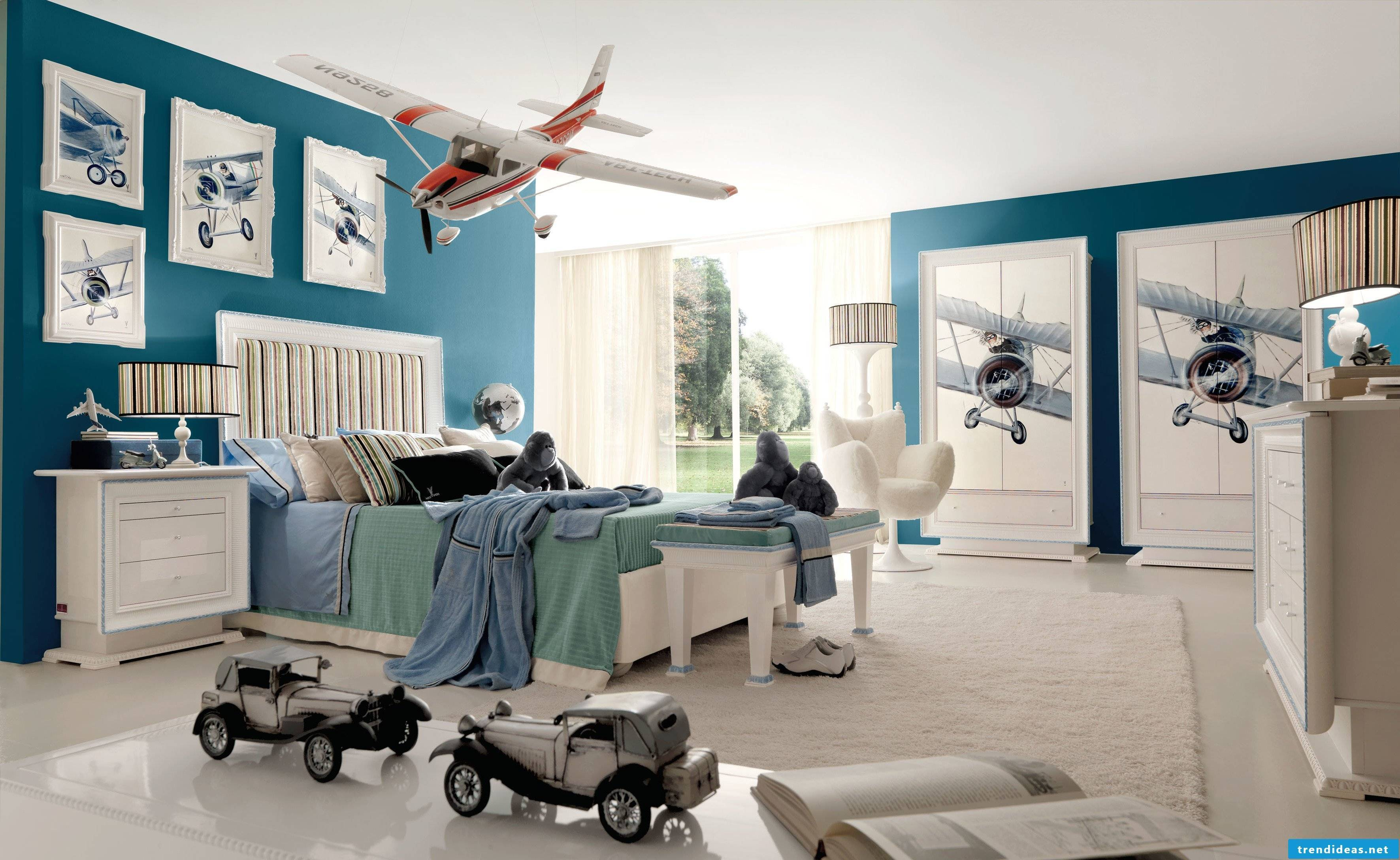The modern aviator nursery