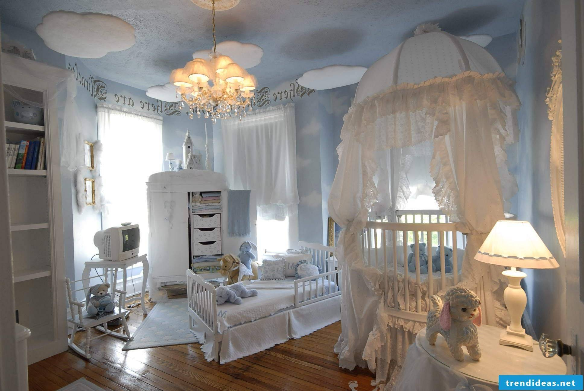 The prince's room from fairy tales