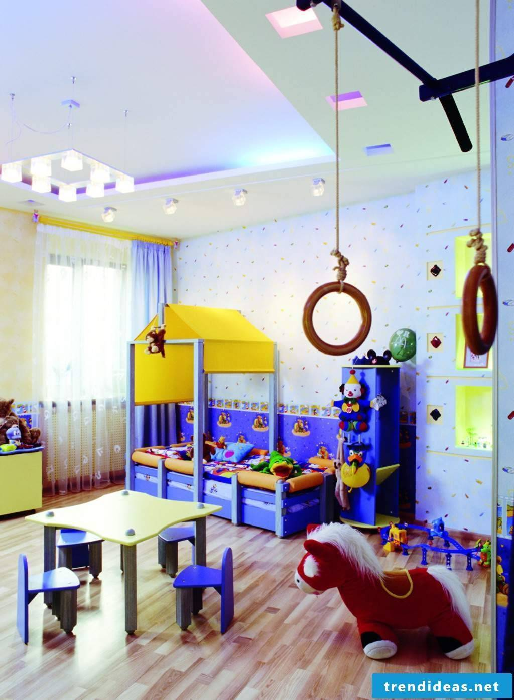 Nursery design for little boy