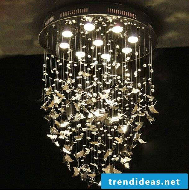 Mobile lamp - a real eye-catcher