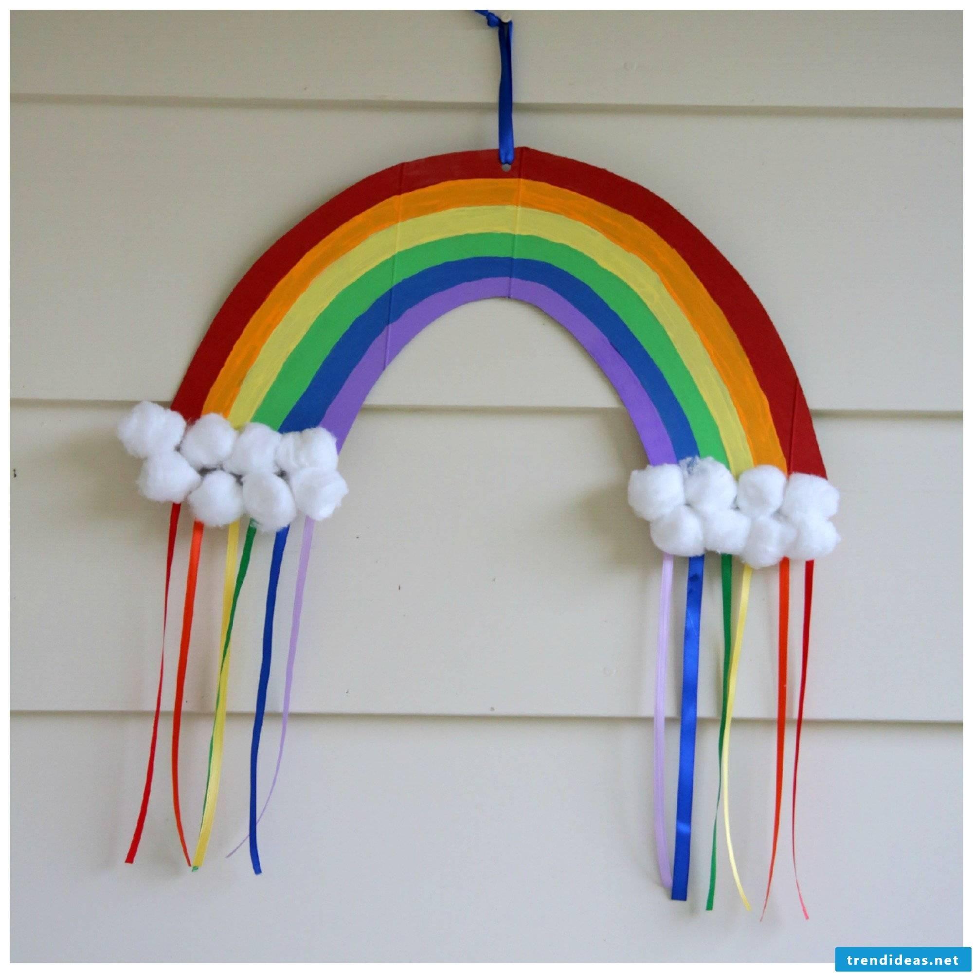 The rainbow mobile