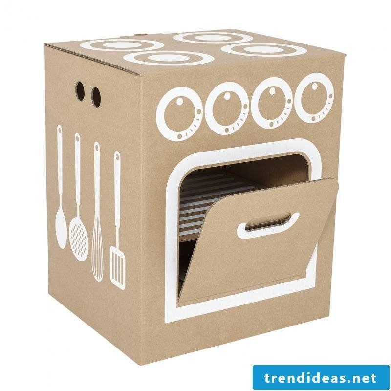 Children's kitchen build yourself: oven