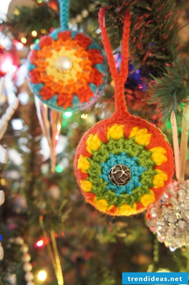 Crochet for Christmas Christmas tree decorations