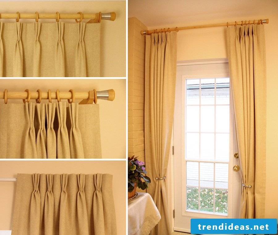 Anyone can sew curtains