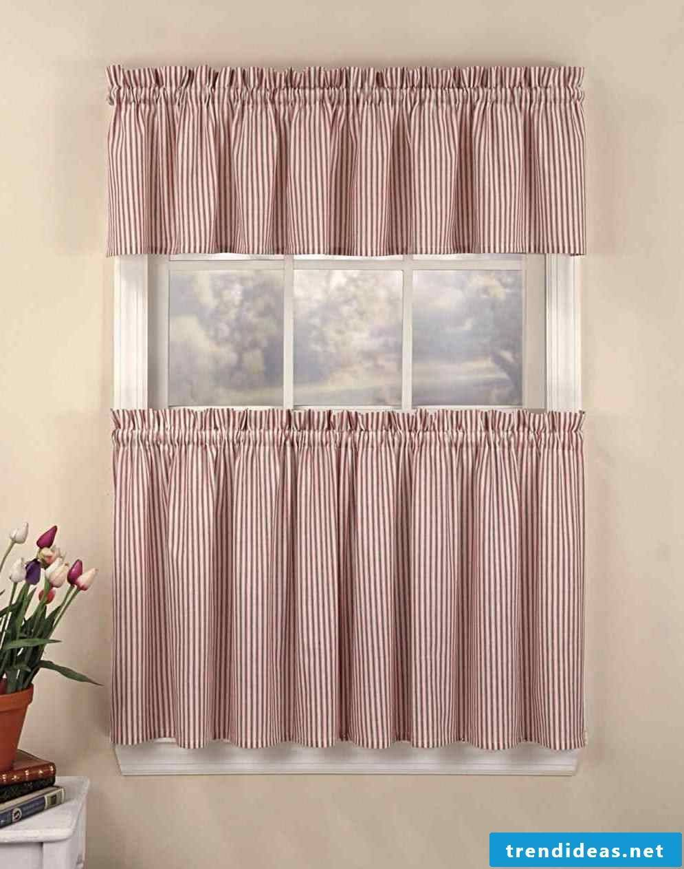 Sewing curtains can be easy