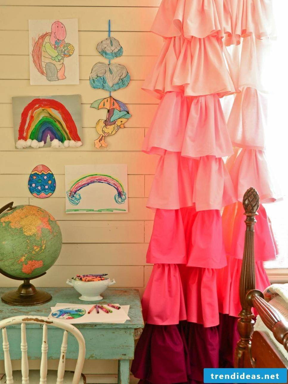 funny curtains for the nursery