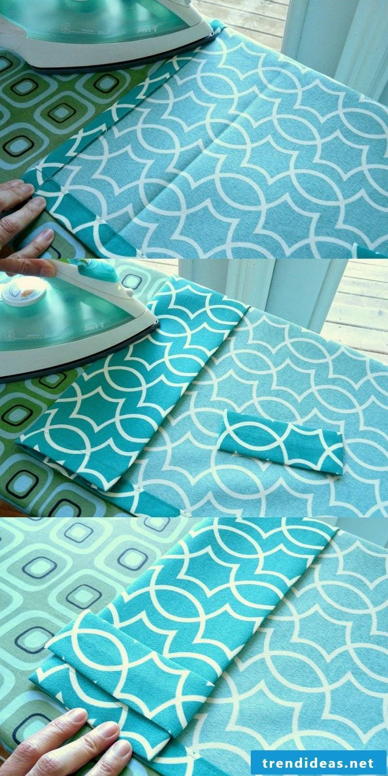 Sew curtains - step by step