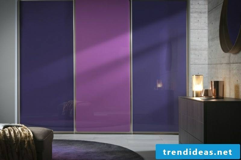cabinet made to measure collection purple