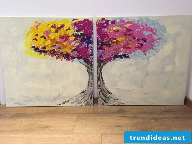 Paint your own tree