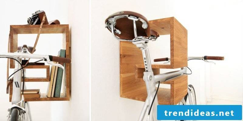 Bicycle mount for wall ideas