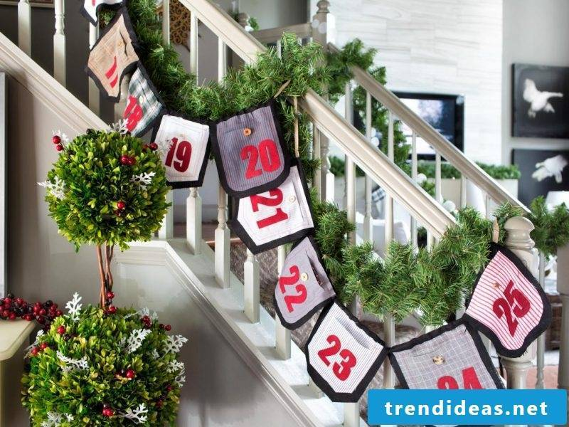 Sewing advent calendars - the most important part of Christmas decoration and tradition