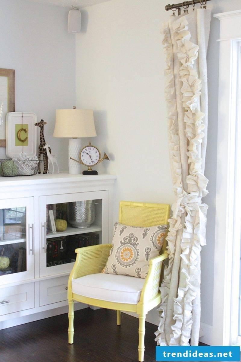 Curtain sewing DIY design