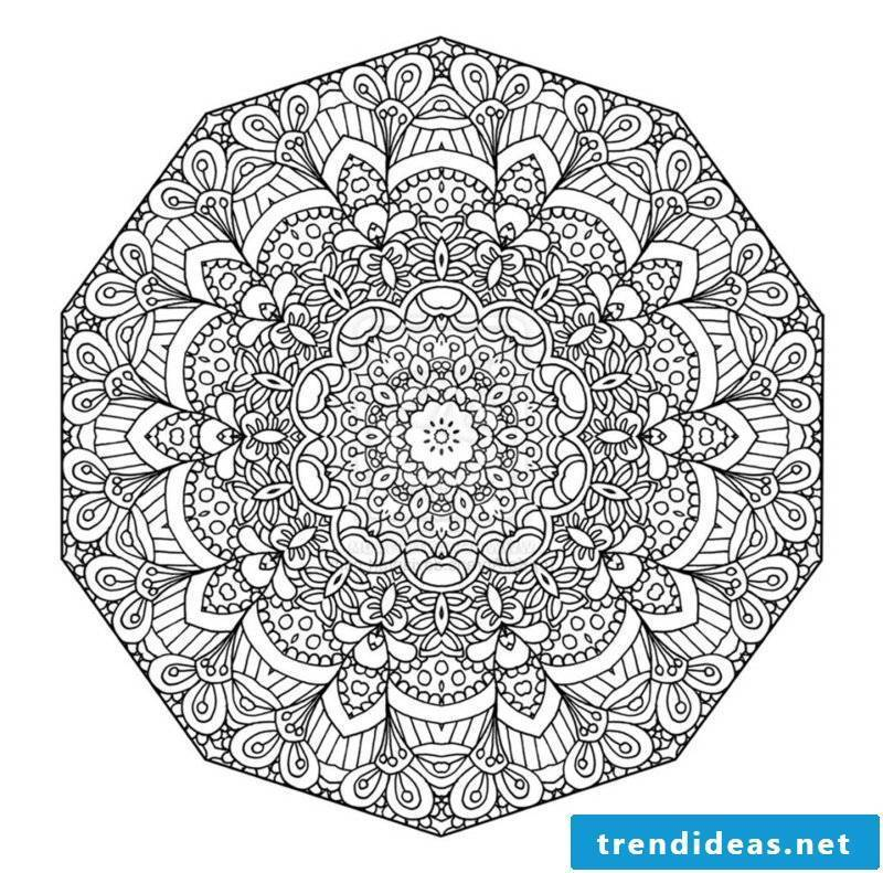 mandala templates oscillation