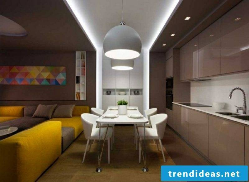 Indirect lighting itself builds ideas and inspiration