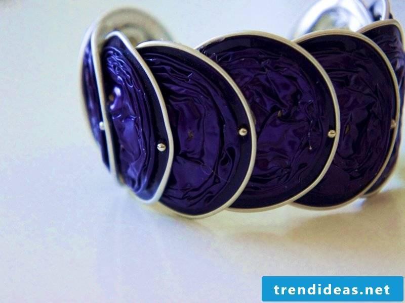 nespresso jewelry purple