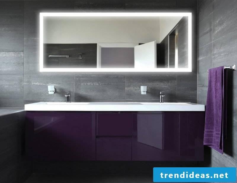 designer mirror white