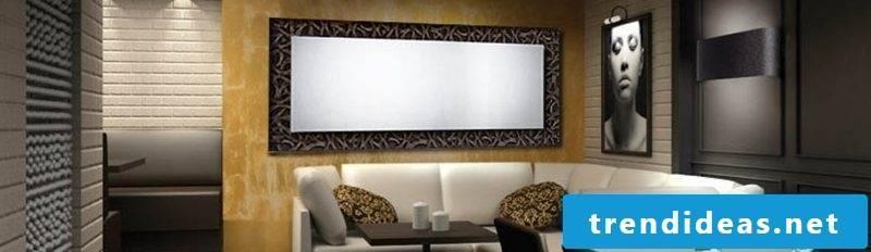 designer mirror creative