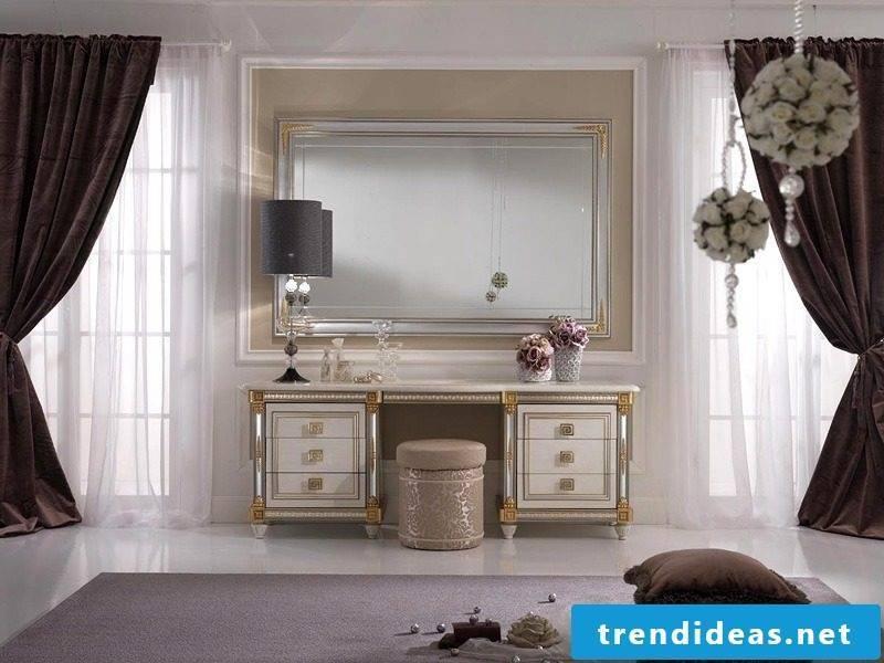 designer mirror vintage