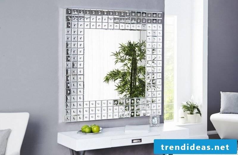 designer mirror unique