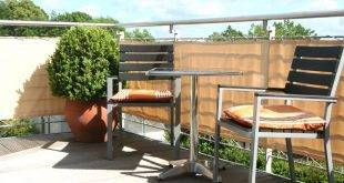 Disguise your balcony: 27 ideas for Balkonumrandung