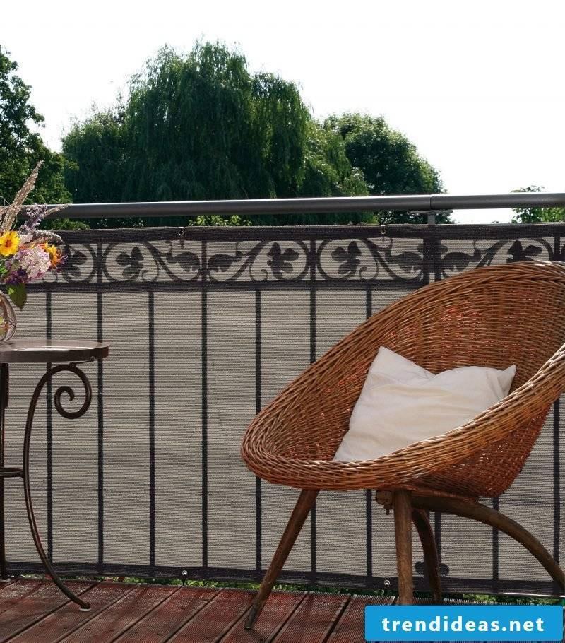 Balcony border types