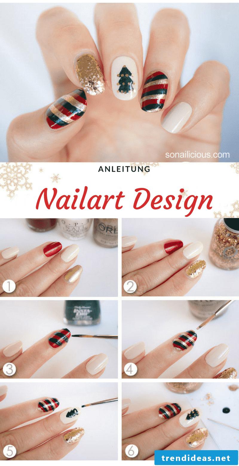 Nail art winter ideas