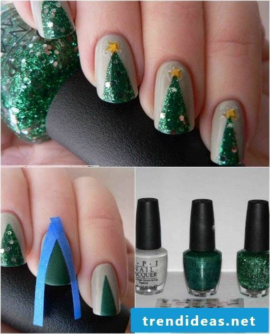 Nails Christmas designs