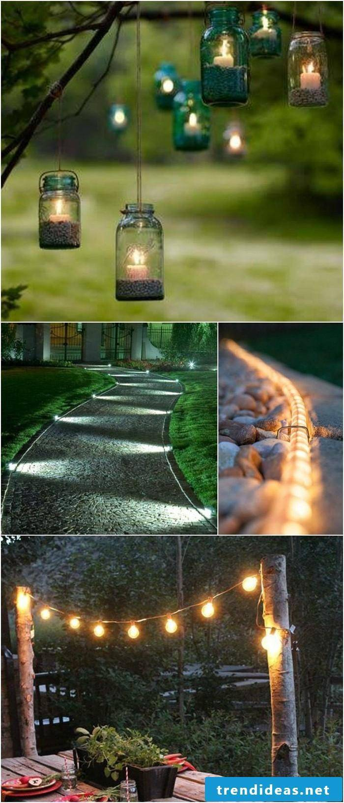 DIY decoration - make lighting yourself