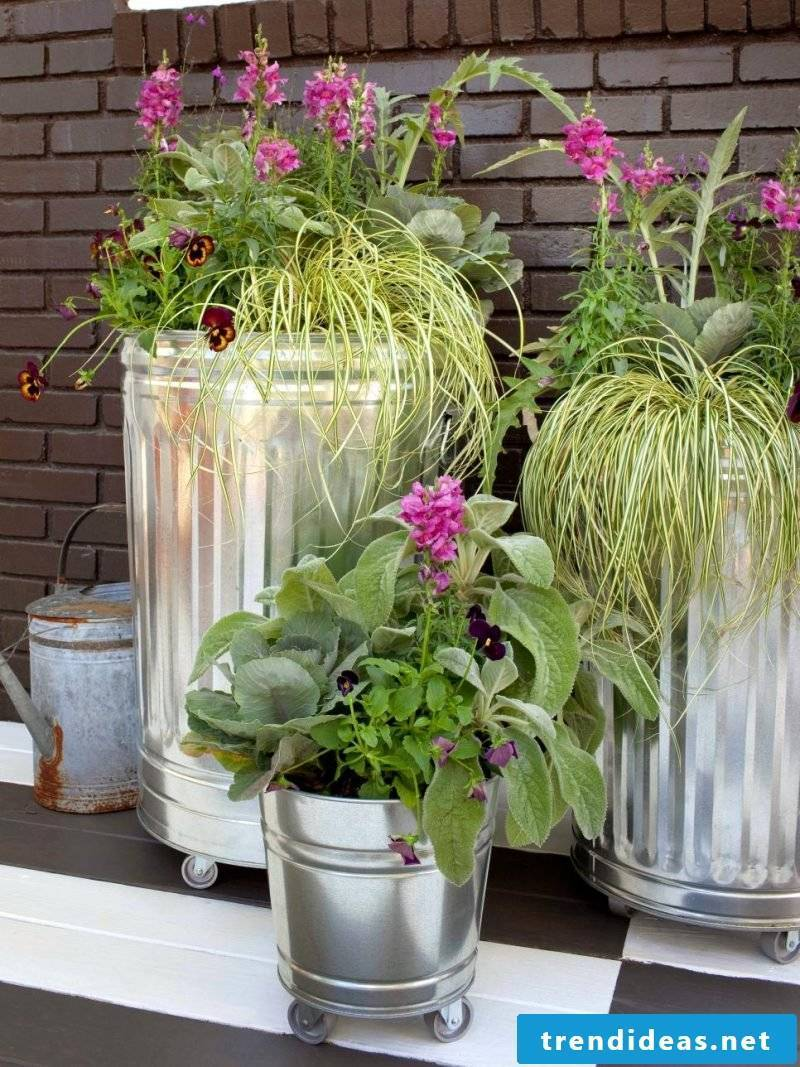 What is upcycling and how can we use it in the garden?